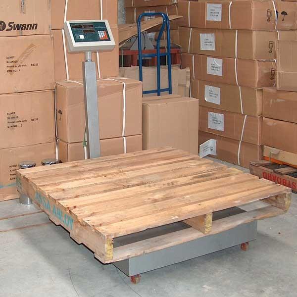Balanza de plataforma 300 kg