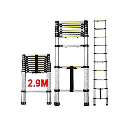 ESCALERA EXTENSIBLE TELESCOPICA PLEGABLE 2,9  METROS