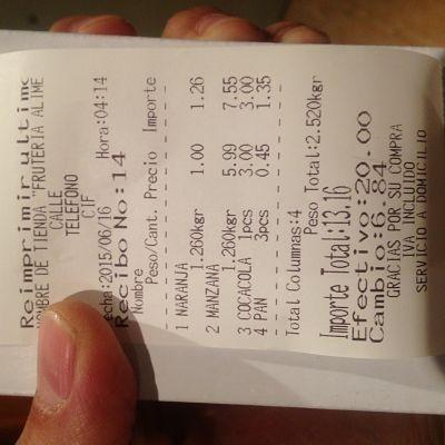 Balanza bascula ticket bateria factura simplificad