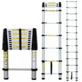 ESCALERA EXTENSIBLE TELESCOPICA PLEGABLE 2,9  METROS